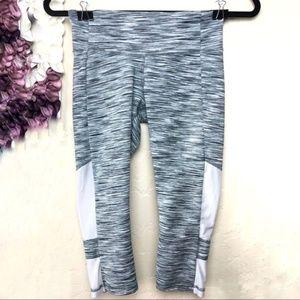 Alo Yoga Space Dye Capri Workout Leggings Size XS